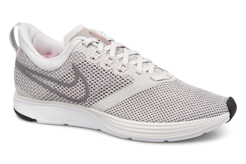 Chaussures de sport Nike Wmns Nike Zoom Strike Gris vue détail/paire