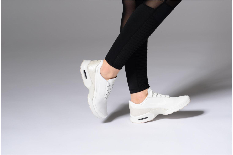 Sneaker Nike W Nike Air Max Jewell Lea weiß ansicht von unten / tasche getragen