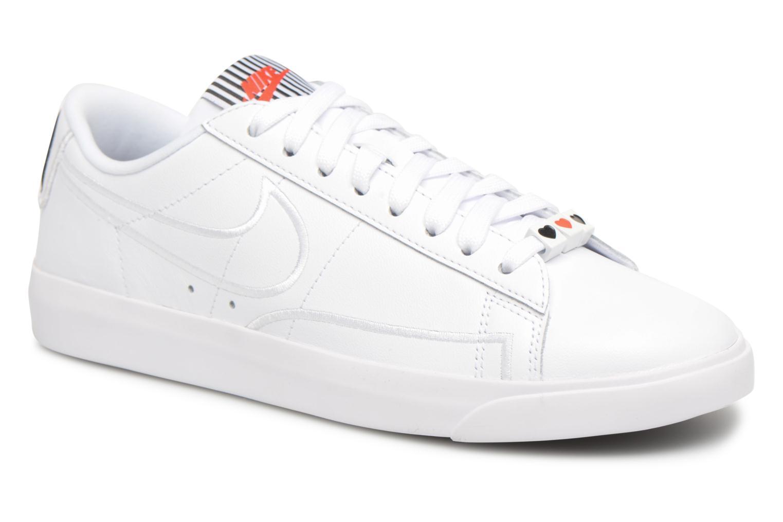 Baskets Nike W Blazer Low Se Lx Blanc vue détail/paire