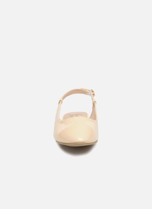 Ballerines I Love Shoes Belona Beige vue portées chaussures