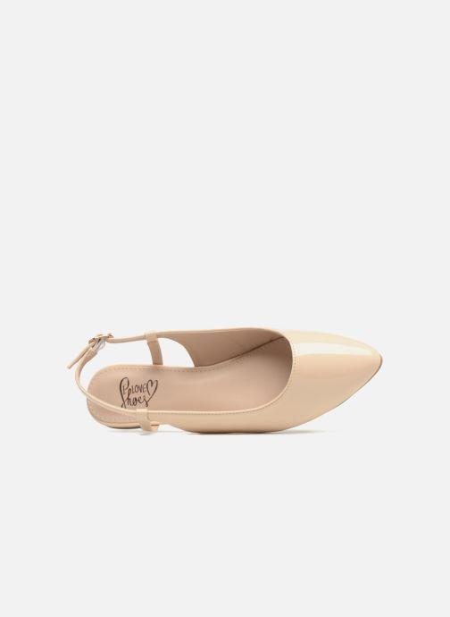 Ballerines I Love Shoes Belona Beige vue gauche