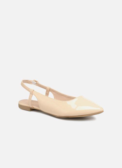 Ballerines I Love Shoes Belona Beige vue détail/paire