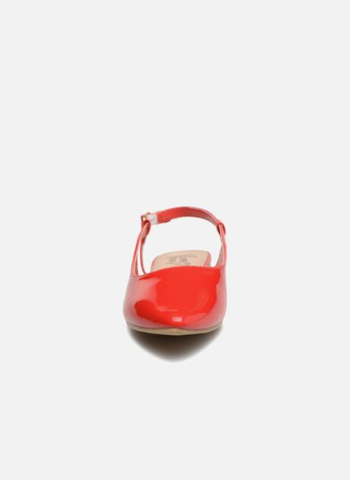 Ballerines I Love Shoes Belona Rouge vue portées chaussures