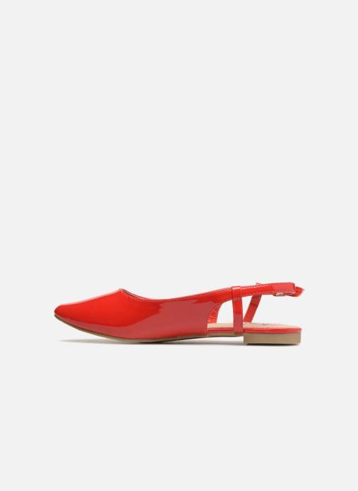 Bailarinas I Love Shoes Belona Rojo vista de frente