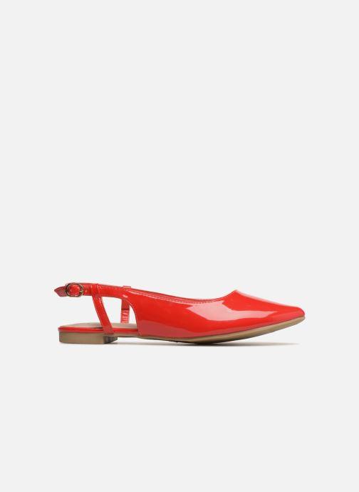 Bailarinas I Love Shoes Belona Rojo vistra trasera