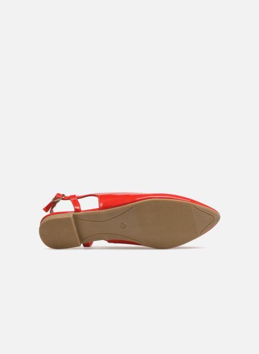 Ballerines I Love Shoes Belona Rouge vue haut
