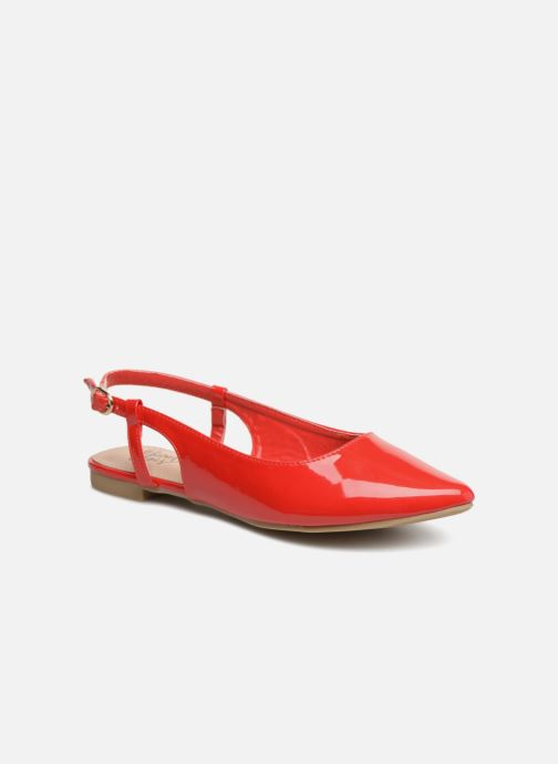 Ballerines I Love Shoes Belona Rouge vue détail/paire