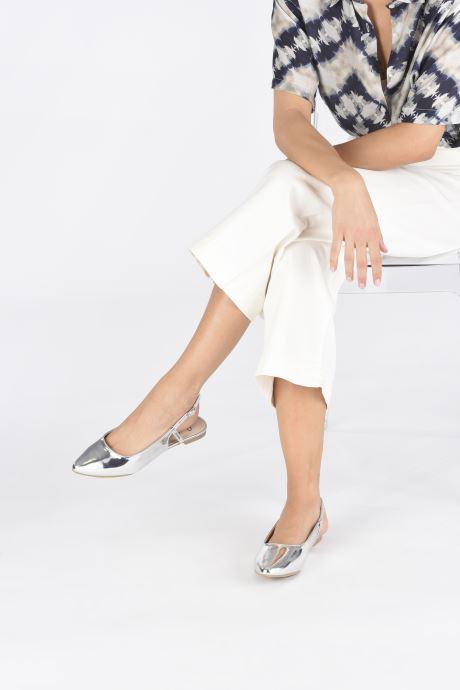 Bailarinas I Love Shoes Belona Plateado vista de abajo