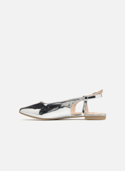 Ballerine I Love Shoes Belona Argento immagine frontale