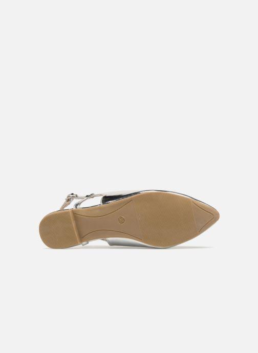 Bailarinas I Love Shoes Belona Plateado vista de arriba