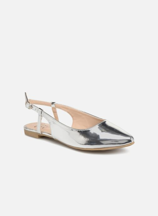 Bailarinas I Love Shoes Belona Plateado vista de detalle / par