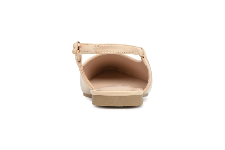 Ballerines I Love Shoes Belona Beige vue droite