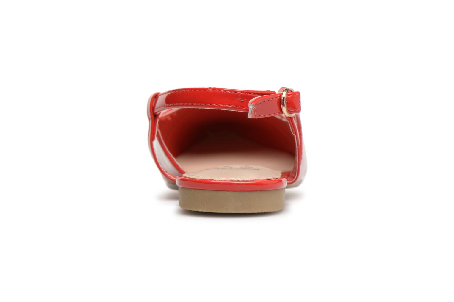 Ballerines I Love Shoes Belona Rouge vue droite