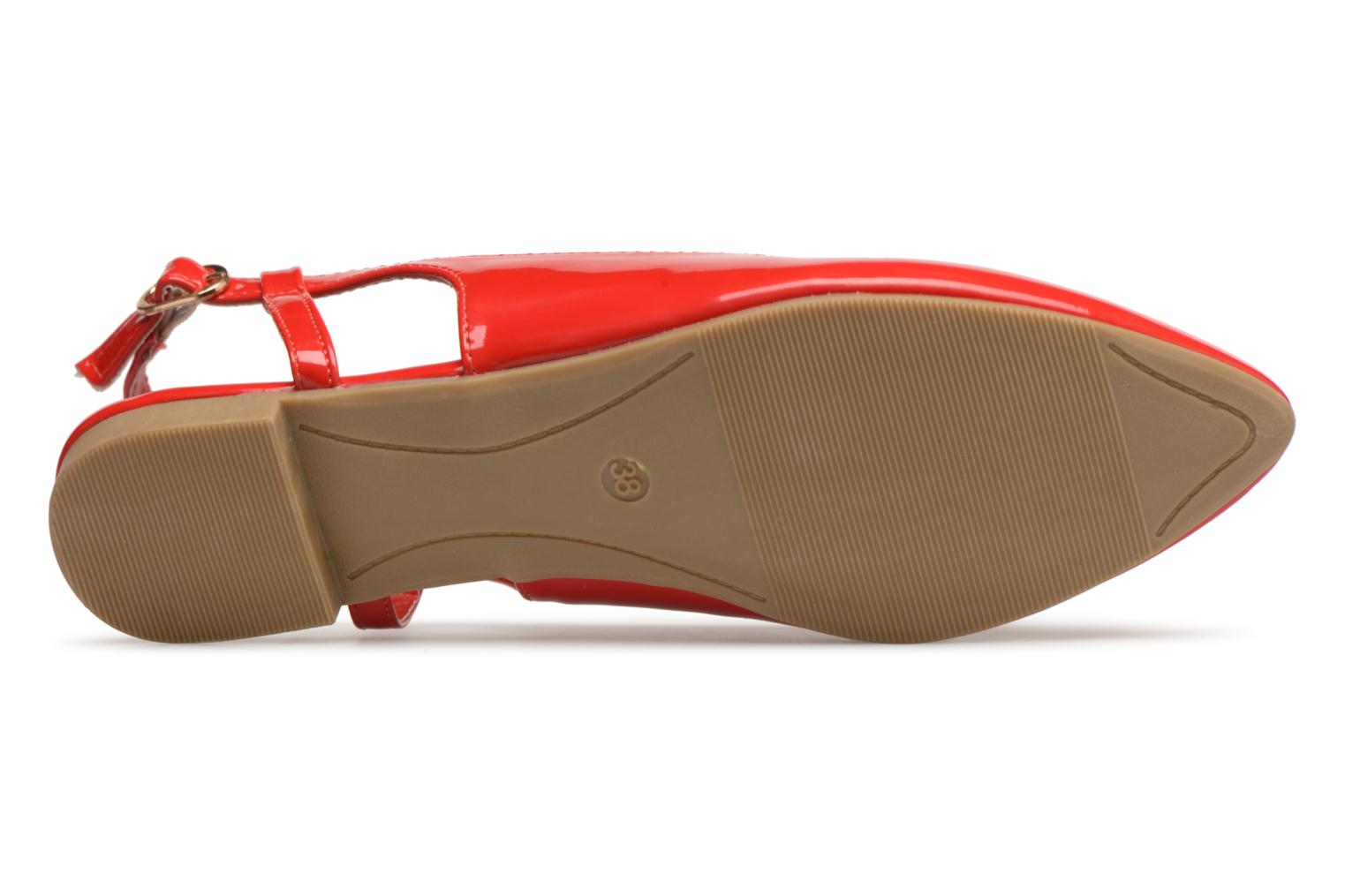 Ballerines I Love Shoes Belona Rouge vue haut