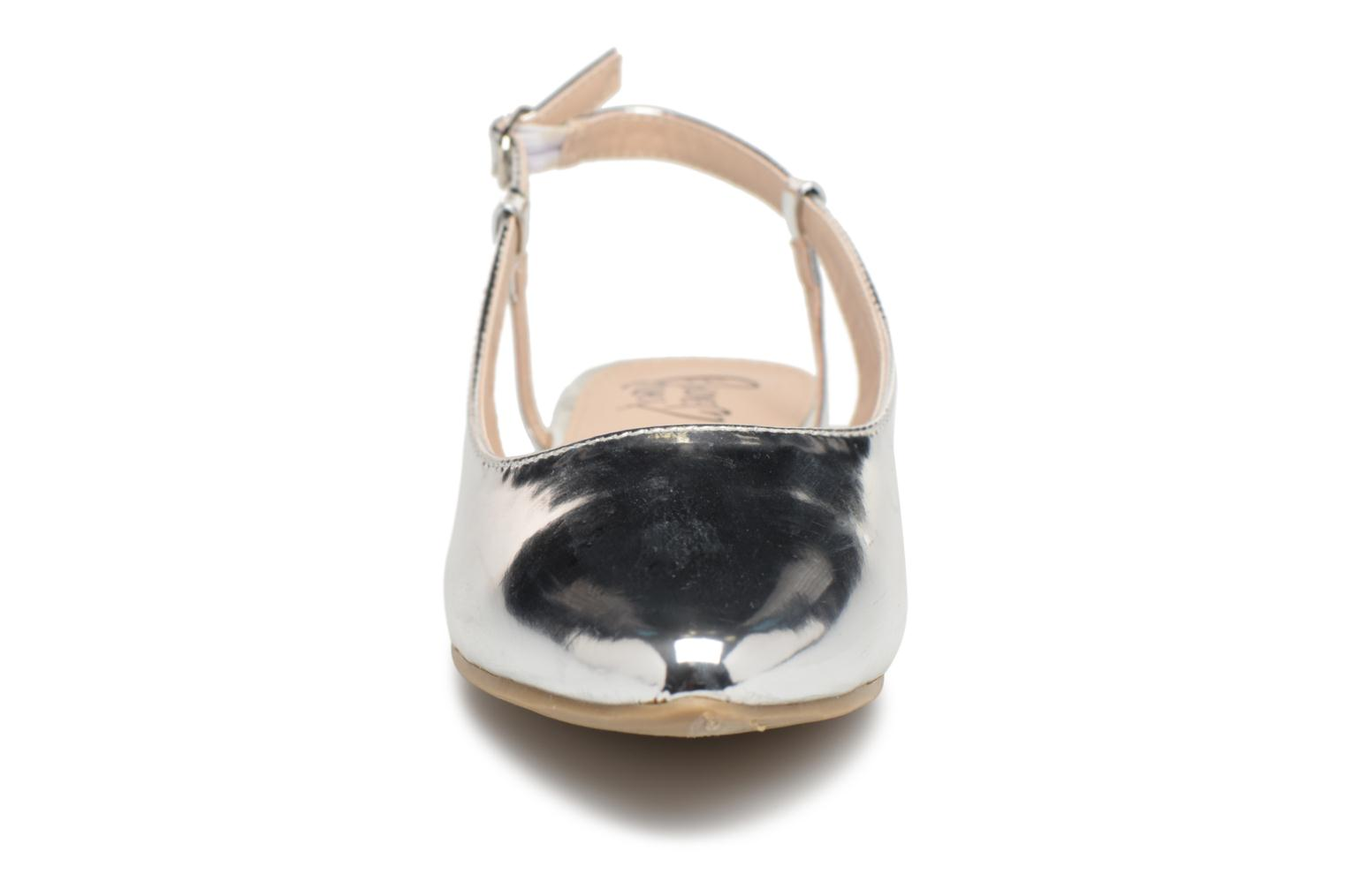 Ballet pumps I Love Shoes Belona Silver model view