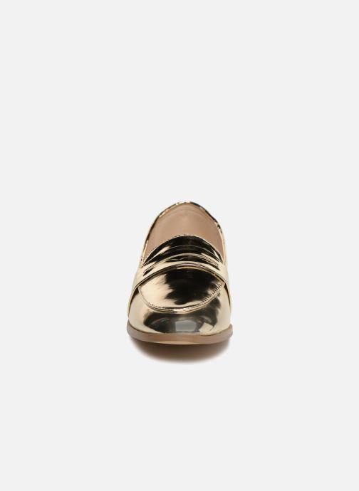 Mocassins I Love Shoes Bepola Or et bronze vue portées chaussures