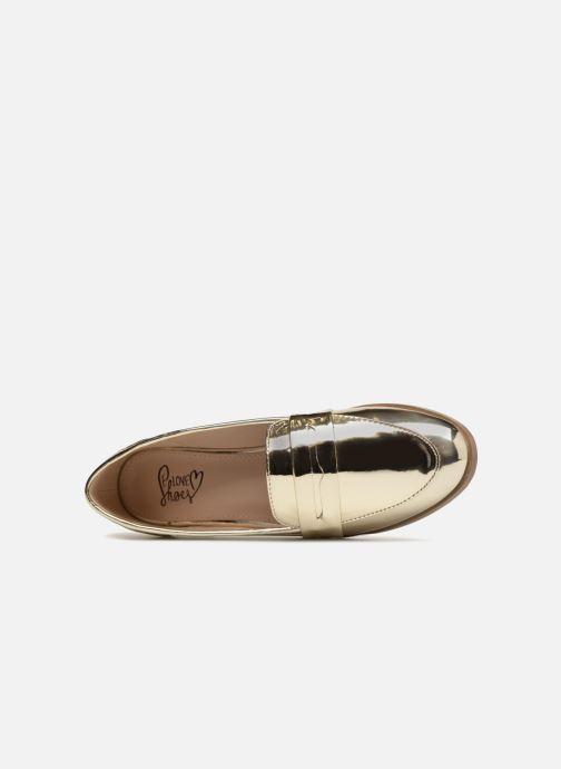 Mocassins I Love Shoes Bepola Or et bronze vue gauche