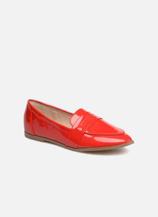 Mocassins I Love Shoes Bepola Rood detail
