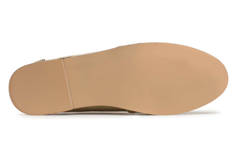 Mocassins I Love Shoes Bepola Or et bronze vue haut