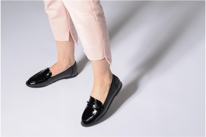 Mocassins I Love Shoes Bepola Noir vue bas / vue portée sac