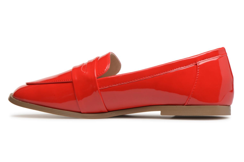 Mocassins I Love Shoes Bepola Rouge vue face