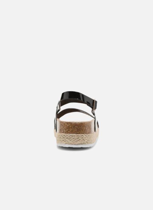 Sandalias I Love Shoes Benino Negro vista lateral derecha