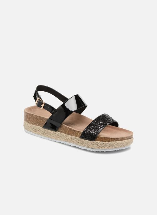 Sandalias I Love Shoes Benino Negro vista de detalle / par