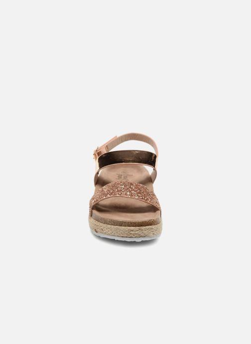 Sandales et nu-pieds I Love Shoes Benino Or et bronze vue portées chaussures