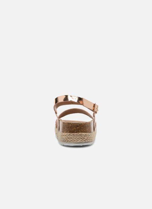 Sandalias I Love Shoes Benino Oro y bronce vista lateral derecha