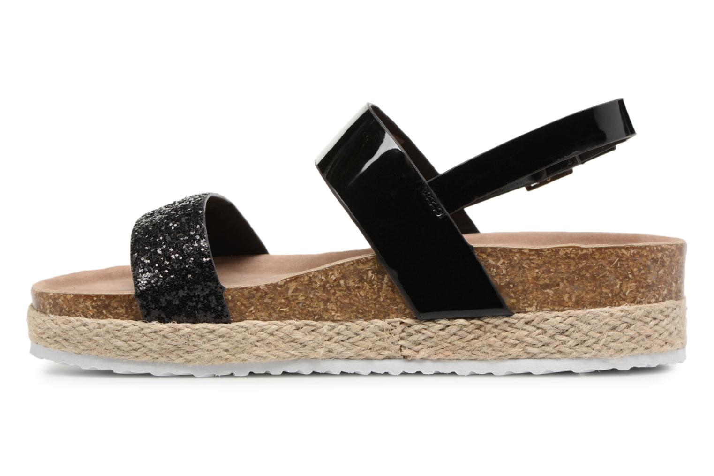Sandales et nu-pieds I Love Shoes Benino Noir vue face
