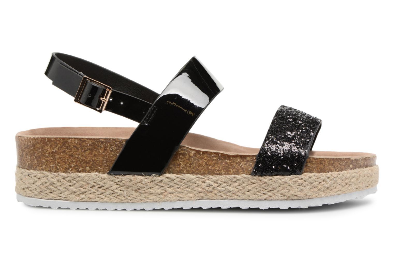 Sandales et nu-pieds I Love Shoes Benino Noir vue derrière