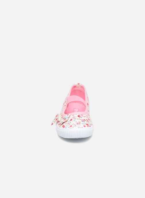 Bailarinas I Love Shoes Belipa Rosa vista del modelo