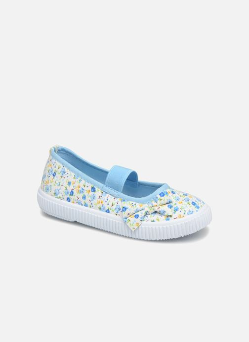 Ballerines I Love Shoes Belipa Bleu vue détail/paire