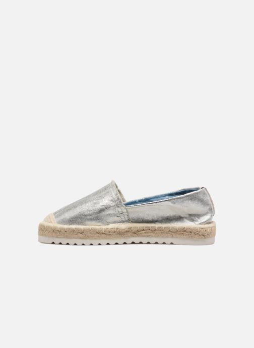Alpargatas I Love Shoes Beyoni Plateado vista de frente