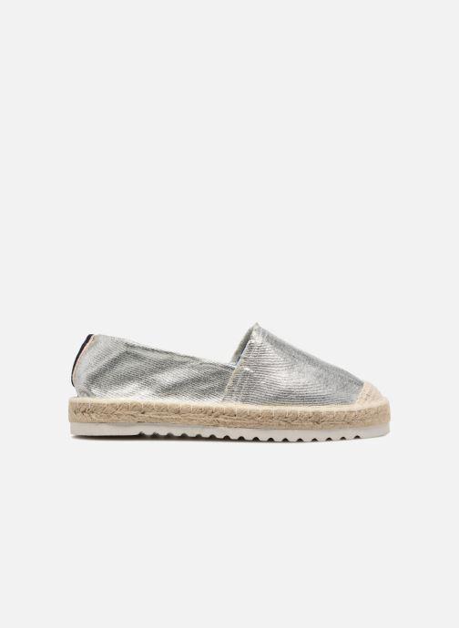 Alpargatas I Love Shoes Beyoni Plateado vistra trasera
