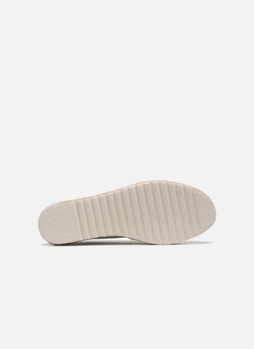 Alpargatas I Love Shoes Beyoni Plateado vista de arriba