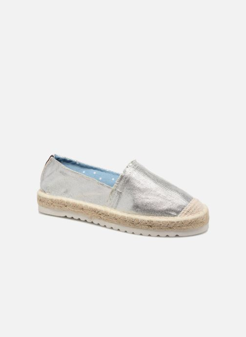 Espadrilles I Love Shoes Beyoni Argent vue détail/paire