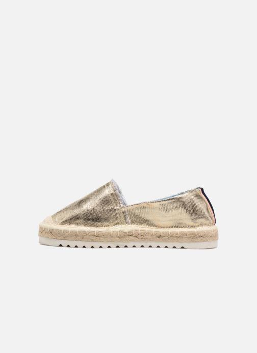 Espadrilles I Love Shoes Beyoni Or et bronze vue face