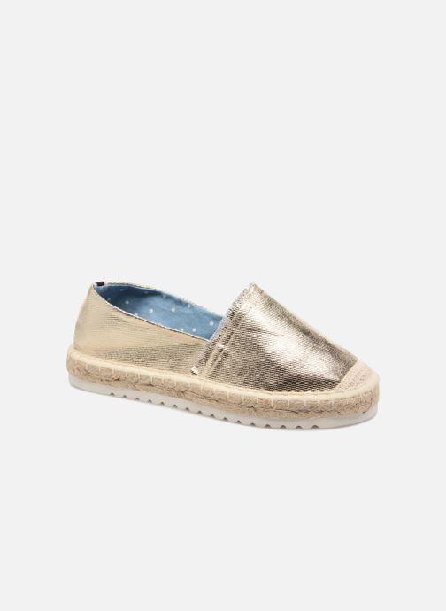 Espadrilles I Love Shoes Beyoni Or et bronze vue détail/paire