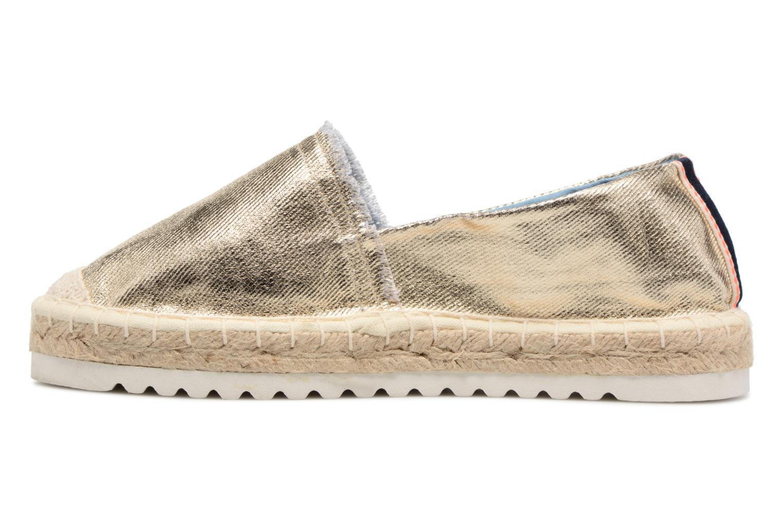 Espadrilles I Love Shoes Beyoni Or et bronze vue face