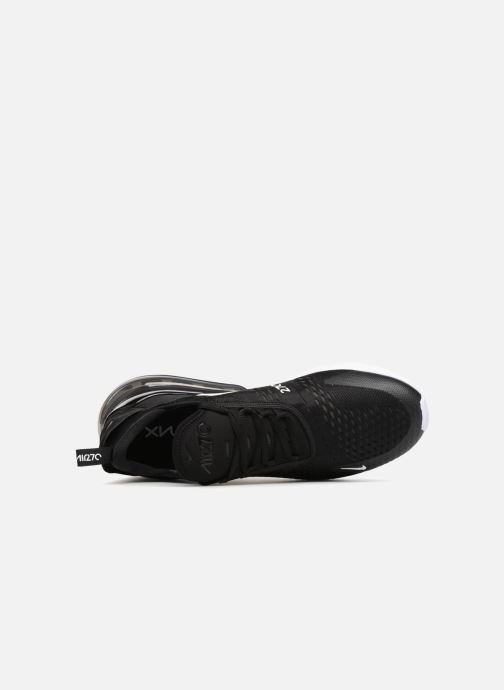 Sneaker Nike Air Max 270 schwarz ansicht von links