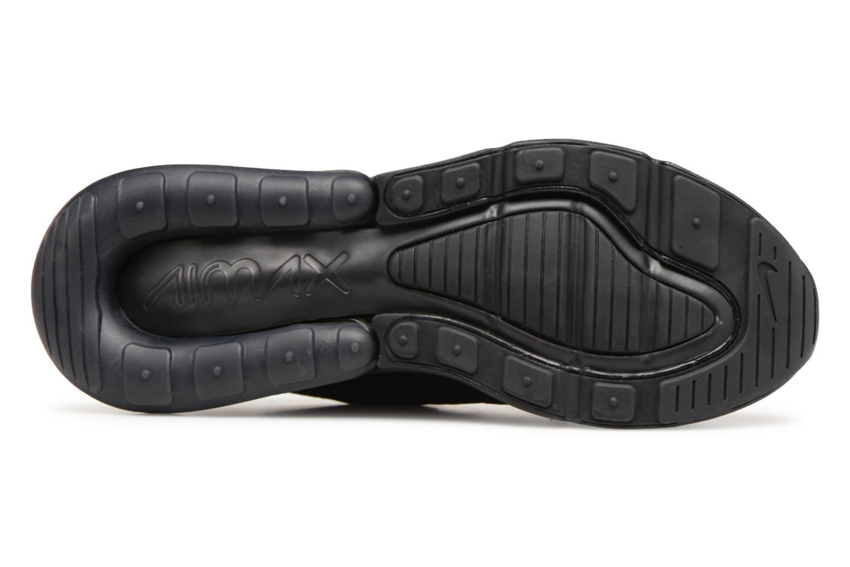 Sneaker Nike Air Max 270 schwarz ansicht von oben