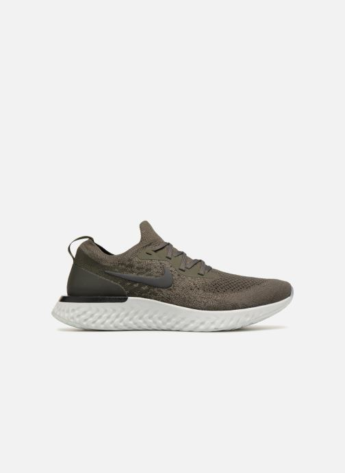 Sportschuhe Nike Nike Epic React Flyknit grün ansicht von hinten
