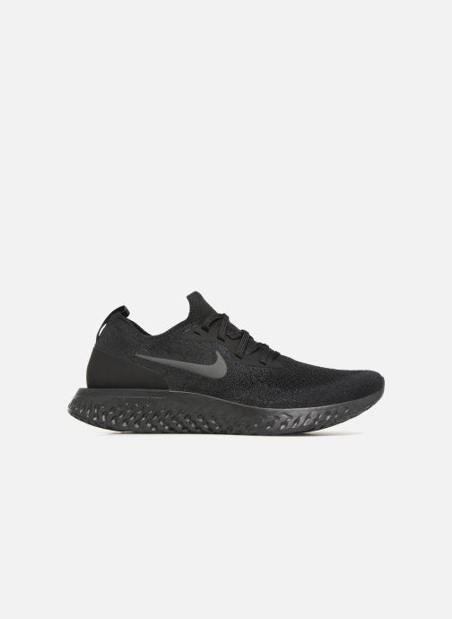 Sportschuhe Nike Nike Epic React Flyknit schwarz ansicht von hinten