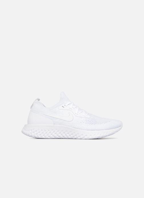 Sportschuhe Nike Nike Epic React Flyknit weiß ansicht von hinten
