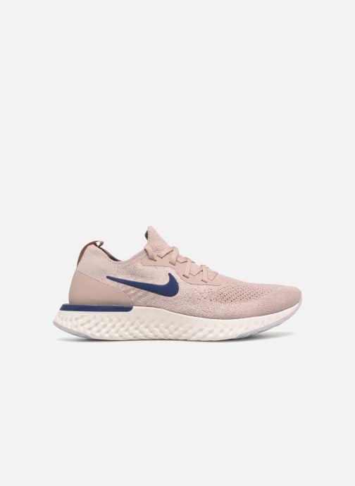 Chaussures de sport Nike Nike Epic React Flyknit Beige vue derrière