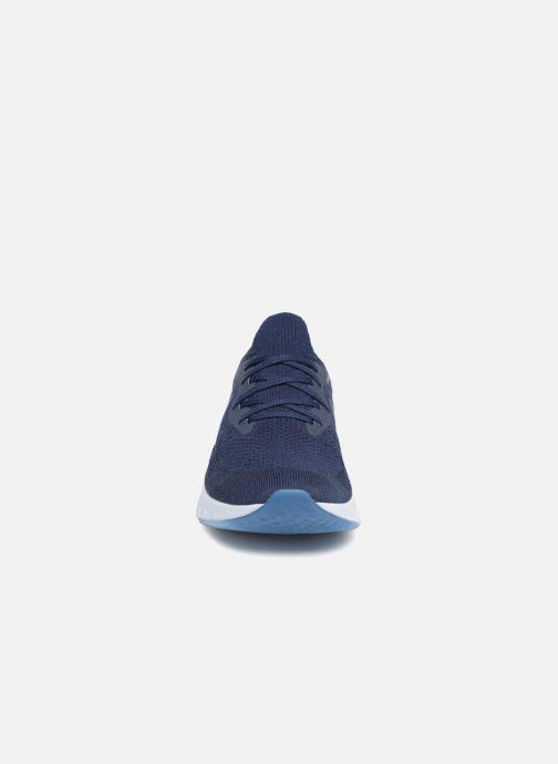 Sport shoes Nike Nike Epic React Flyknit Blue model view
