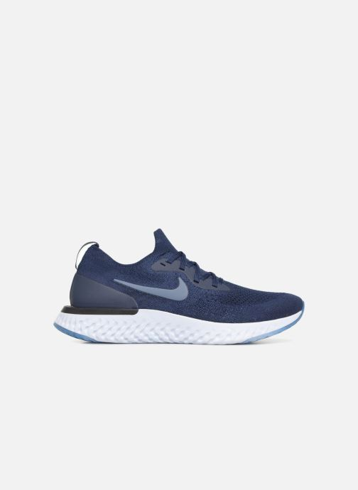 Sport shoes Nike Nike Epic React Flyknit Blue back view
