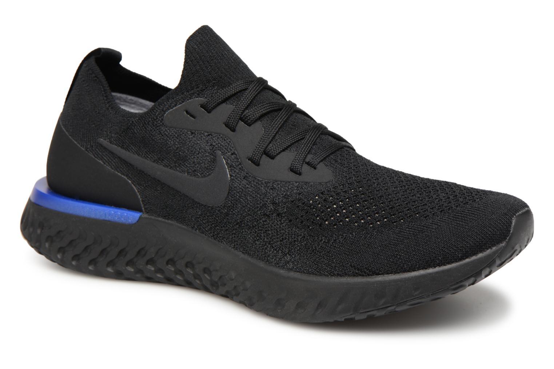 Nike Nike Epic React Flyknit (Noir) - Chaussures de sport en Más cómodo Spécial temps limité