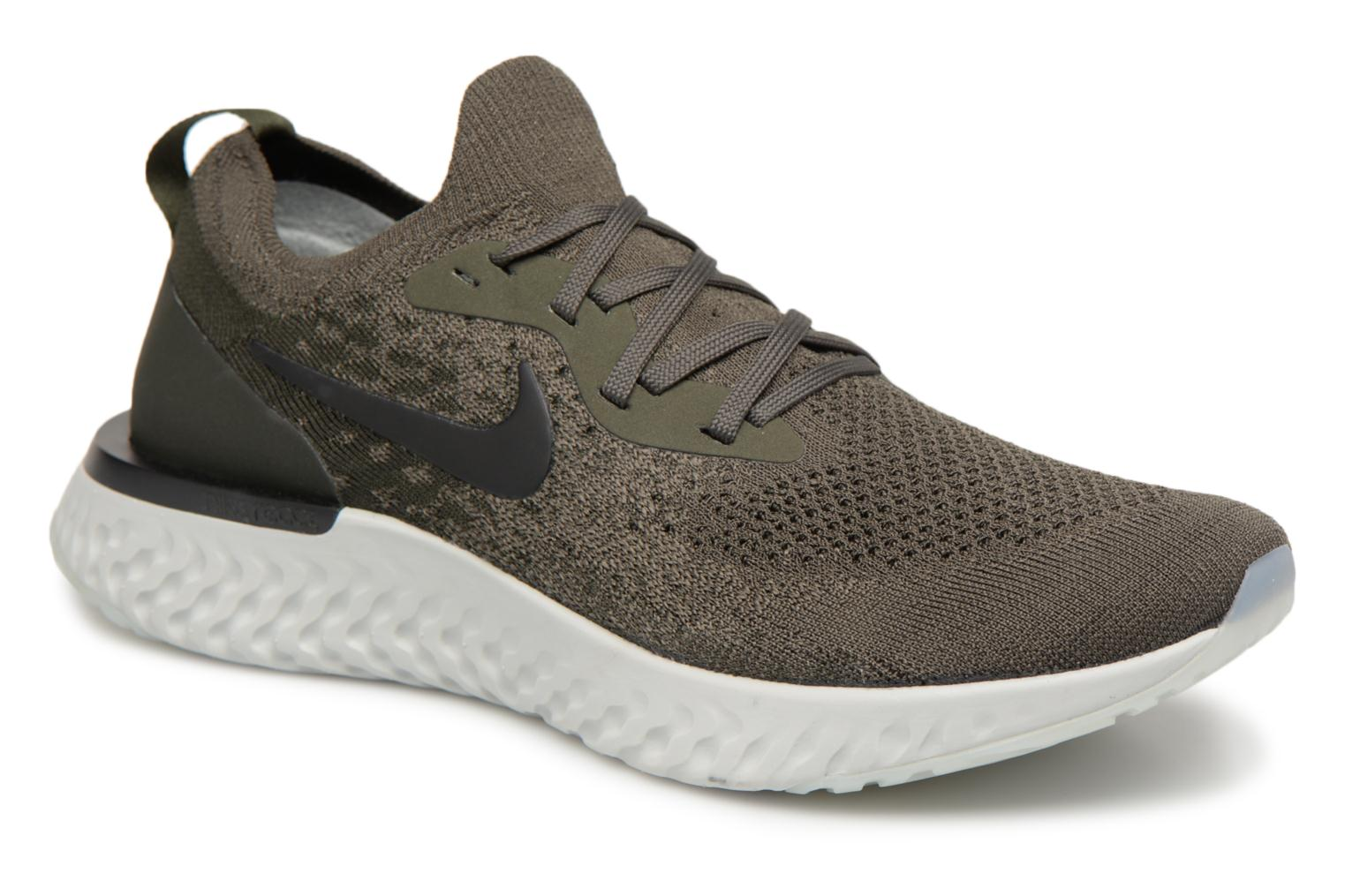 Cargo Nike Silver Khaki sequoia black light Flyknit Epic React jRL5A4